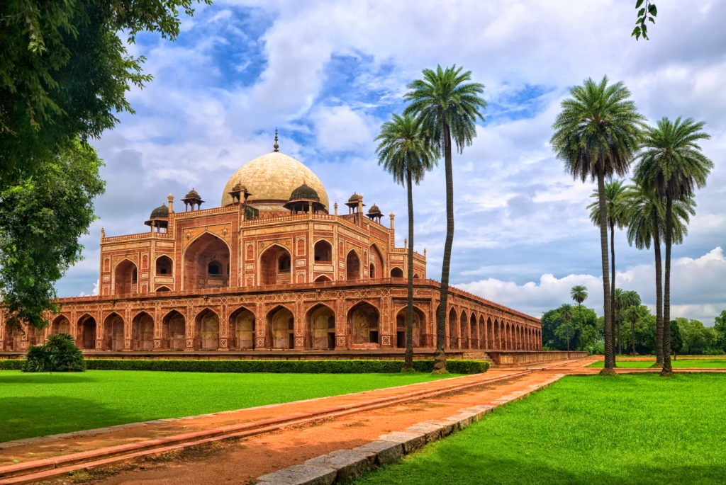 Humayuns Tomb New Delhi India