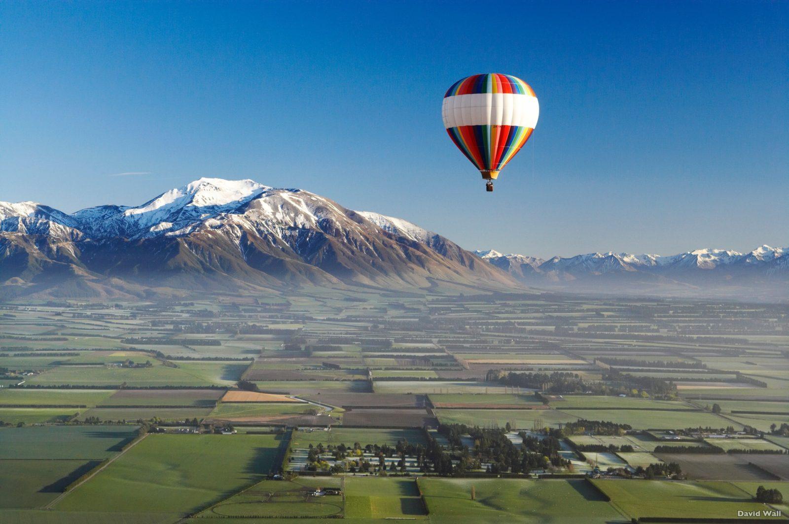 Canterbury Plains, New Zealand Canterbury, by David Wall