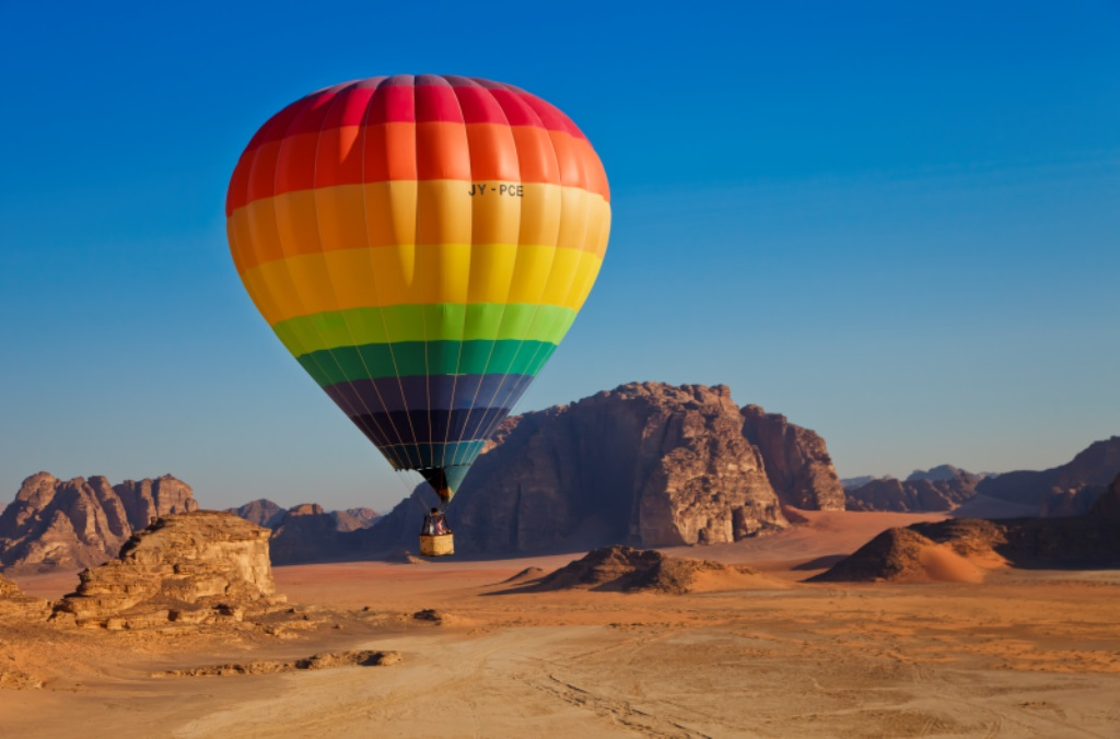 Hot Air Balloon Wadi Rum Jordan