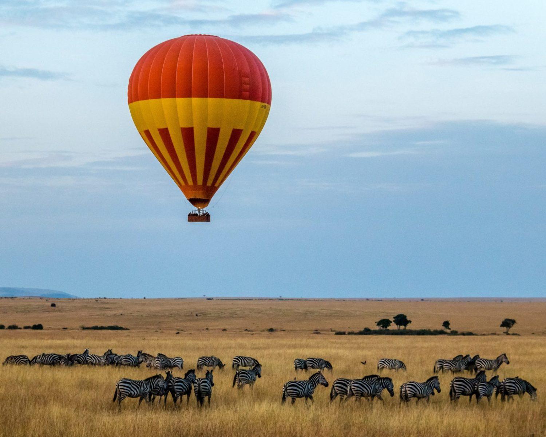 Hot Air Balloon, Maasai Mara, Kenya