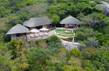 Two Bedroom Hilltop Pool Villa Aerial 8380 Large