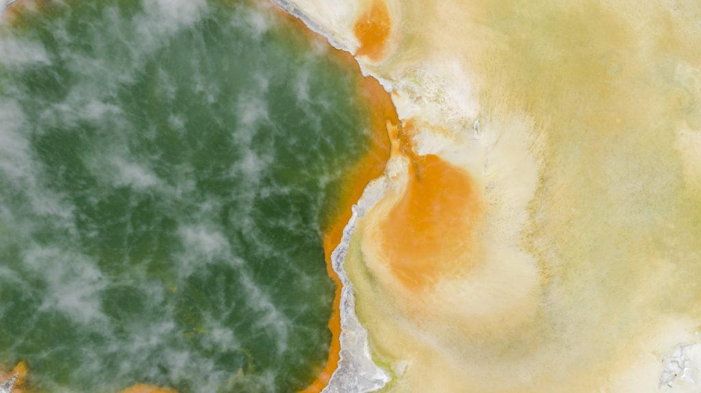 Champagne Pool Rotorua Graeme Murray